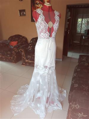 Brand new, exclusive design wedding dress