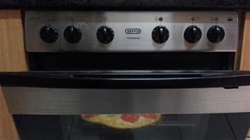 DEFY 600 STS 4-plate hob & Thermofan oven combination for sale