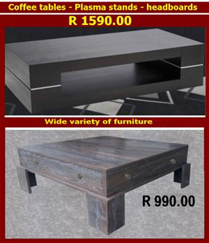Quality furniture: Direct from manufacturer: Plasma stands: Coffee tables: Headboards