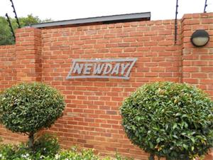 3 A NEWDAY - 2 BEDROOM TOWNHOUSE IN WONDERBOOM SOUTH (RAPID RENTALS)