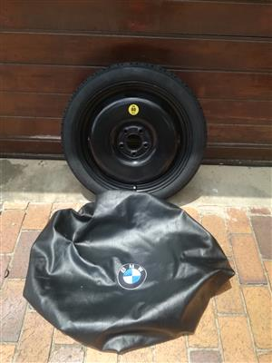 18 inch Emergency Spare Wheel fits BMW 420i and 420d R2950