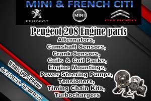 PEUGEOT 208/308/307 Engine parts