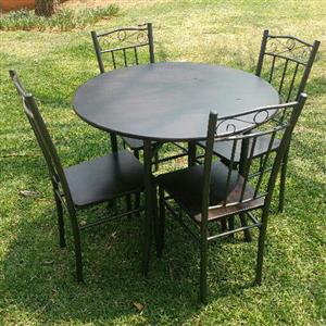 4 seater dining room table and chairs