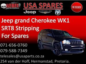 Jeep Grand Cherokee WK1 SRT8 (black) Stripping for Spares.