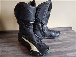 Puma Gore-tex motorcycle riding boots