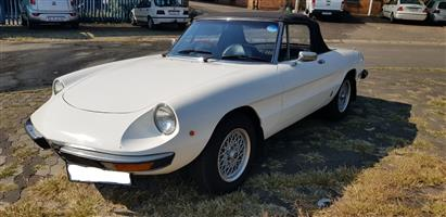1971 Alfa Spider 2000 Series II