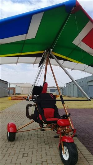 Upgraded Windlass 582 Microlight, Trailer & extra wing - Very low Hrs / Mostly New!