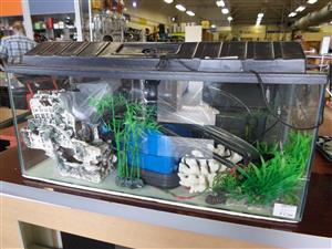 Large Fish Tank + Accessories