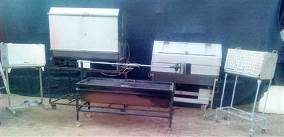 BEST PRICES on Spit Braais, gas stoves, Baine Maries and Catering Equipment