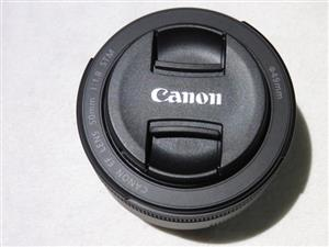 The Canon 50mm f/1.8 STM (Silent Focus Motor) Like New
