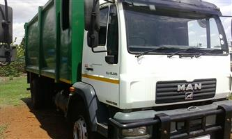 MAN CLA Waste Compactor