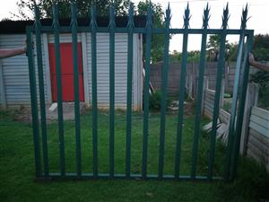 Steel Sliding gate 2.4 x 1.8 Without wheels