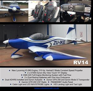 Aircraft RV14 For Sale