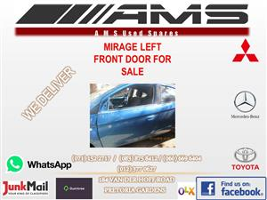 MIRAGE LEFT FRONT DOOR FOR SALE