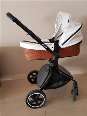 Bounce 2-in-1 Baby Stroller, car seat Brown and Beside Me