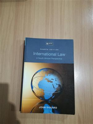 International Law, A South African Perspective 4th ed