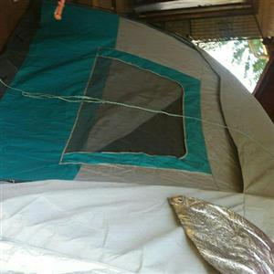 5 man canvas tent with gazebo and gazebo ground sails