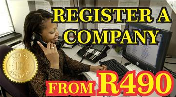 REGISTER YOUR COMPANY FOR R490.00