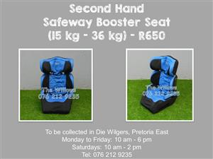 Second Hand Safeway Booster Seat (15 kg - 36 kg)