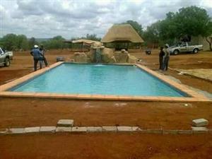 15mx7m pool + 10mx8 lapa
