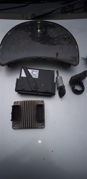 Opel Corsa 1.7 DTI (Y17) complete lockset for sale