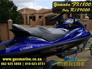 Yamaha FX1800 WaveRunner for sale  Krugersdorp