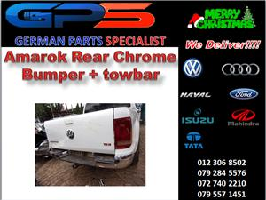 VW Amarok Rear Chrome Bumper & Towbar for Sale
