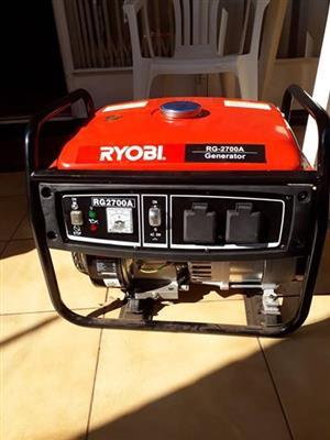 4 Stroke Ryobi Generator for sale