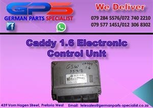 VW Caddy 1.6 Electronic Control Unit for Sale