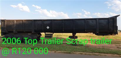 2006 Scrap trailer