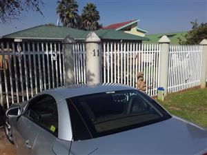 3 Bedroom House to Rent in Quellerie Park Krugersdop R10500.00pm