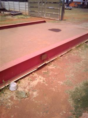 Used weighbridge for sale