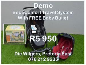 Demo BebeConfort Stella Travel System with FREE Baby Bullet