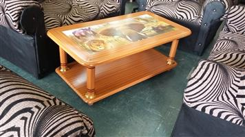 Brand New Big 5 Wooden Coffee Table