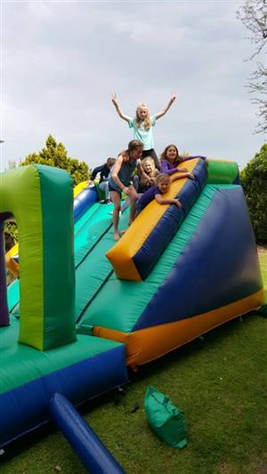 Obstacle Track Jumping Castle