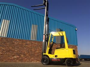 Hyster XM 1.75 ton Petrol forklift for sale