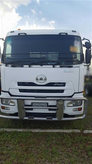 2013 Nissan UD GW 26-410 Quonn 12cube tipper truck for sale