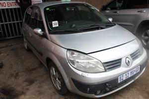 We are stripping Renault Scenic 2007 1.6 manual