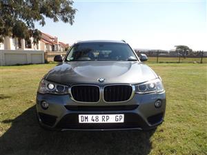 2015 BMW X3 xDRIVE 20d (G01)