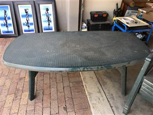 Garden table & chairs for sale
