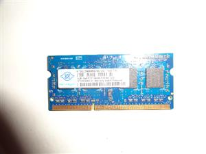 2GB 1RCx8 PC 3 Laptop Ram 10600S  1333