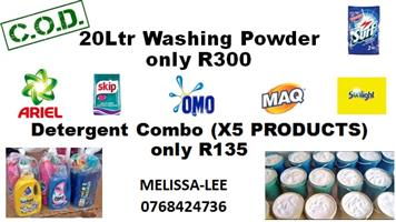 Detergents for sale at a good price