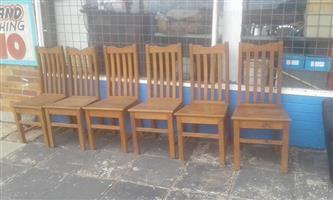 6 stoele te koop