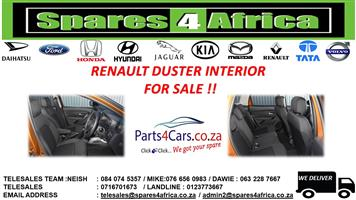 RENAULT DUSTER INTERIOR FOR SALE