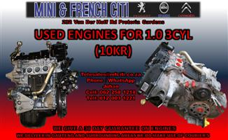 Citroen C1 used Engines and Engines parts on Big sale !! Now !!