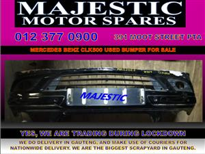 Mercedes benz clk 500 used bumper for sale
