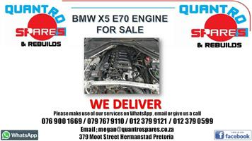 Bmw x5 e70 engine for sale