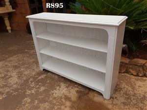 White 3 Tier Book Rack (1250x320x920)