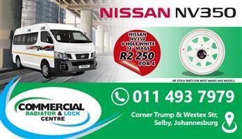 NISSAN NV350 RIMS