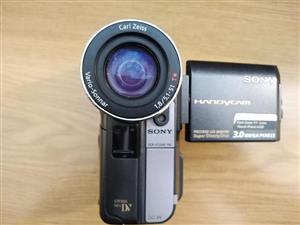 Sony-Digital video camera recorder (120x digital zoom) 3.0 Mega Pixels